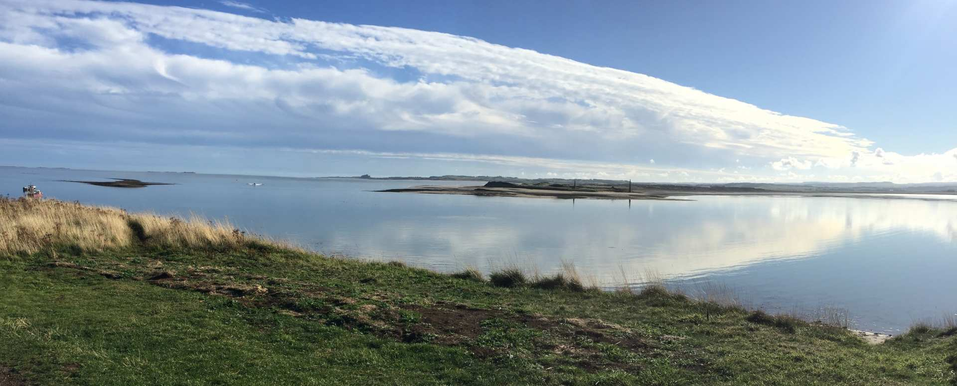 Northumberland Coast Path - Looking toward Bamburgh from Holy Island - Marty and Jane Holski - Landscape.jpeg