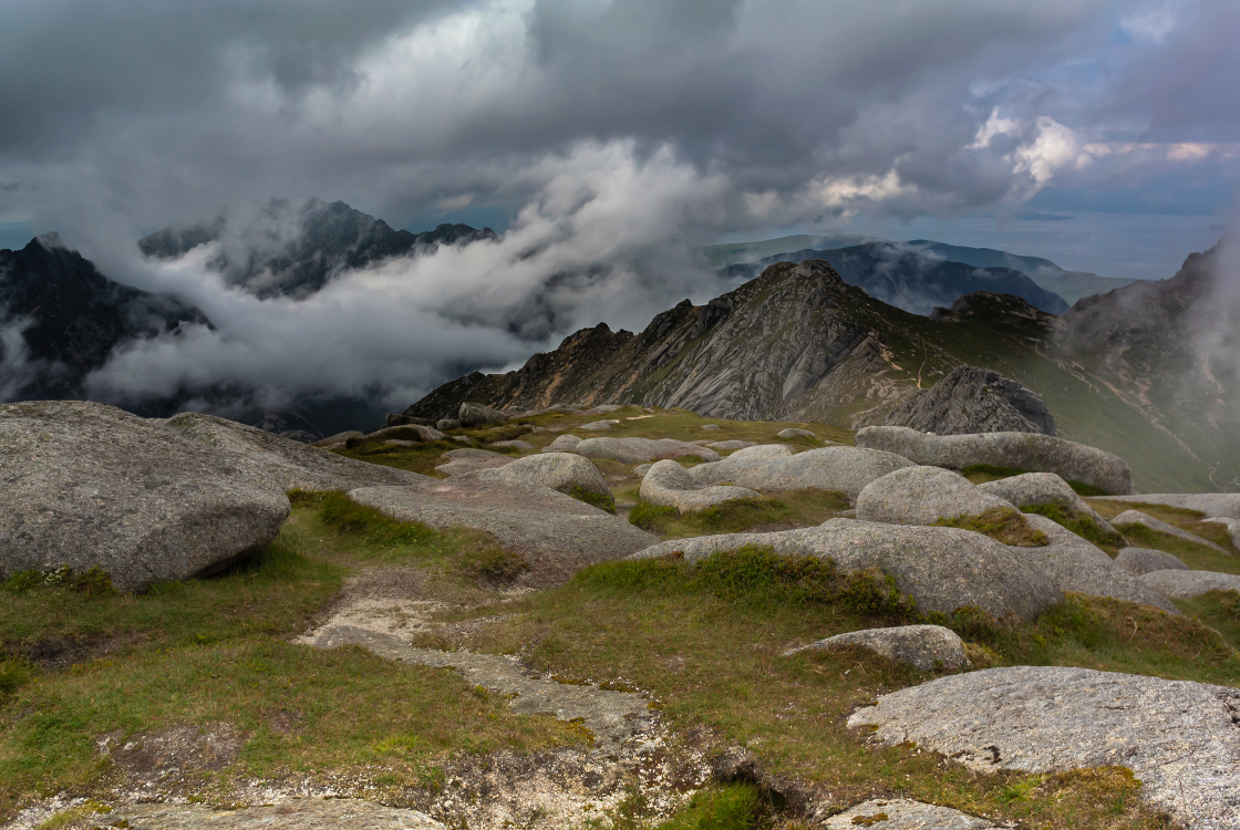 Photo Competition Overall Winner: Mount Goat Fell by Esther Doorn
