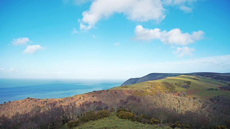 Views across the Bristol Channel