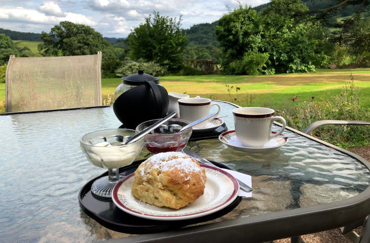 Celebratory cream teas in Grosmont