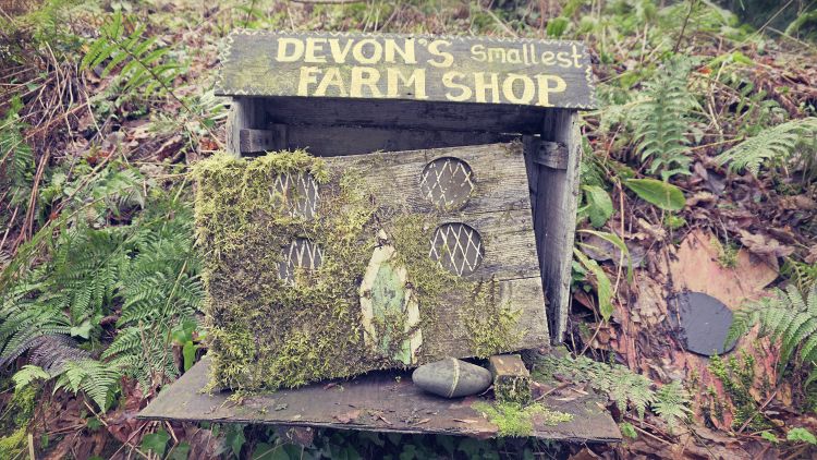 Devon's smallest farm shop