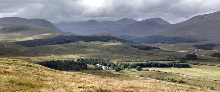 Wilderness on the West Highland Way: Down to Inveroran by Jan Augustine