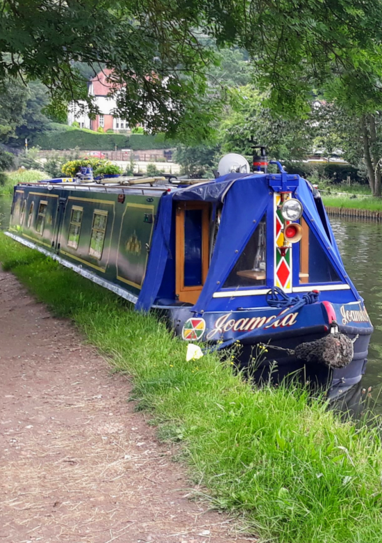 Following a canal
