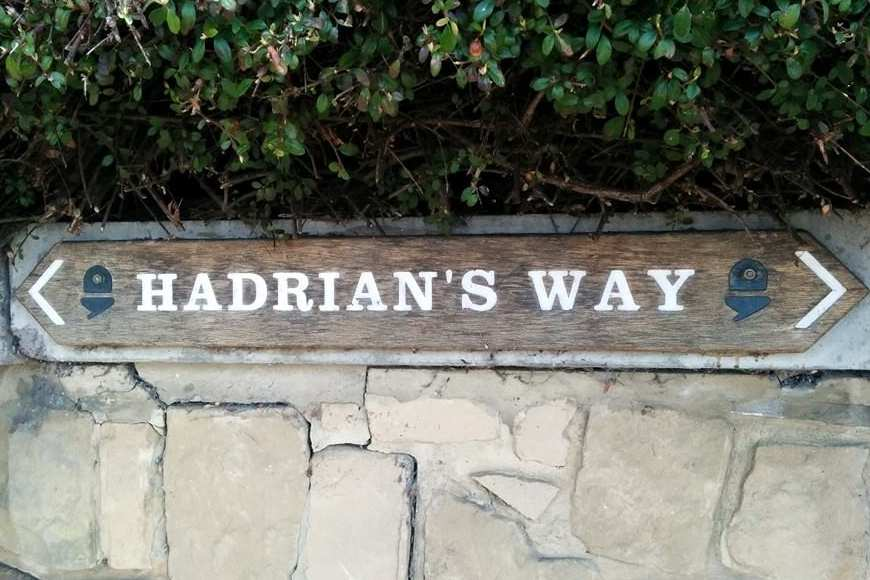 Hadrian's Wall Path in Spring: Hadrian's Way