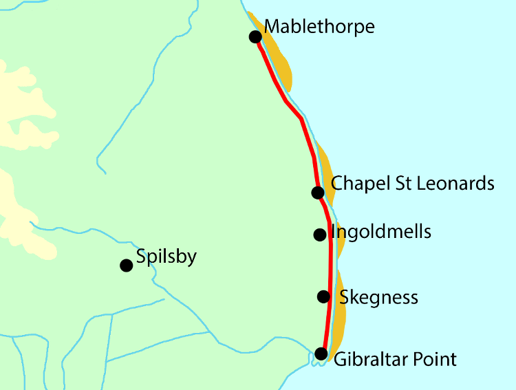 Lincolnshire Coast Path - new for 2020