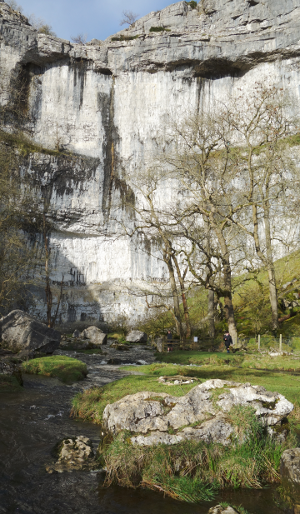 Three Dales Way: Malham Cove