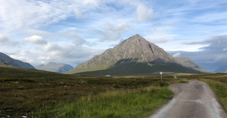 Peak Near Glen Coe by Catherine Sempill
