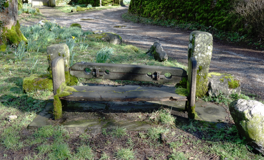 Three Dales Way: Stocks at Arncliffe