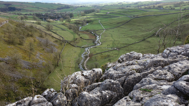 Three Dales Way: Toward Malham