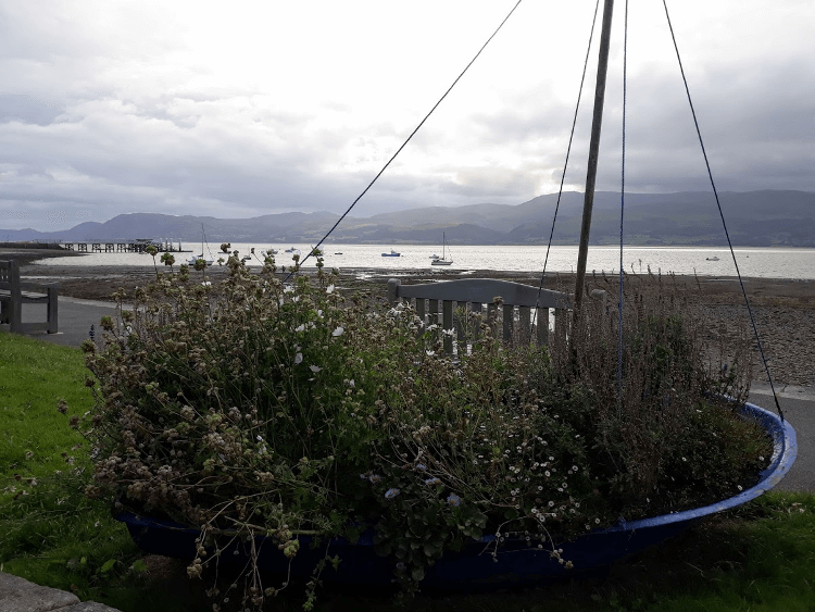 The view over the Menai Strait from Beaumaris