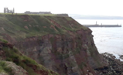 Cleveland Way 50th Anniversary: Whitby Abbey ahead