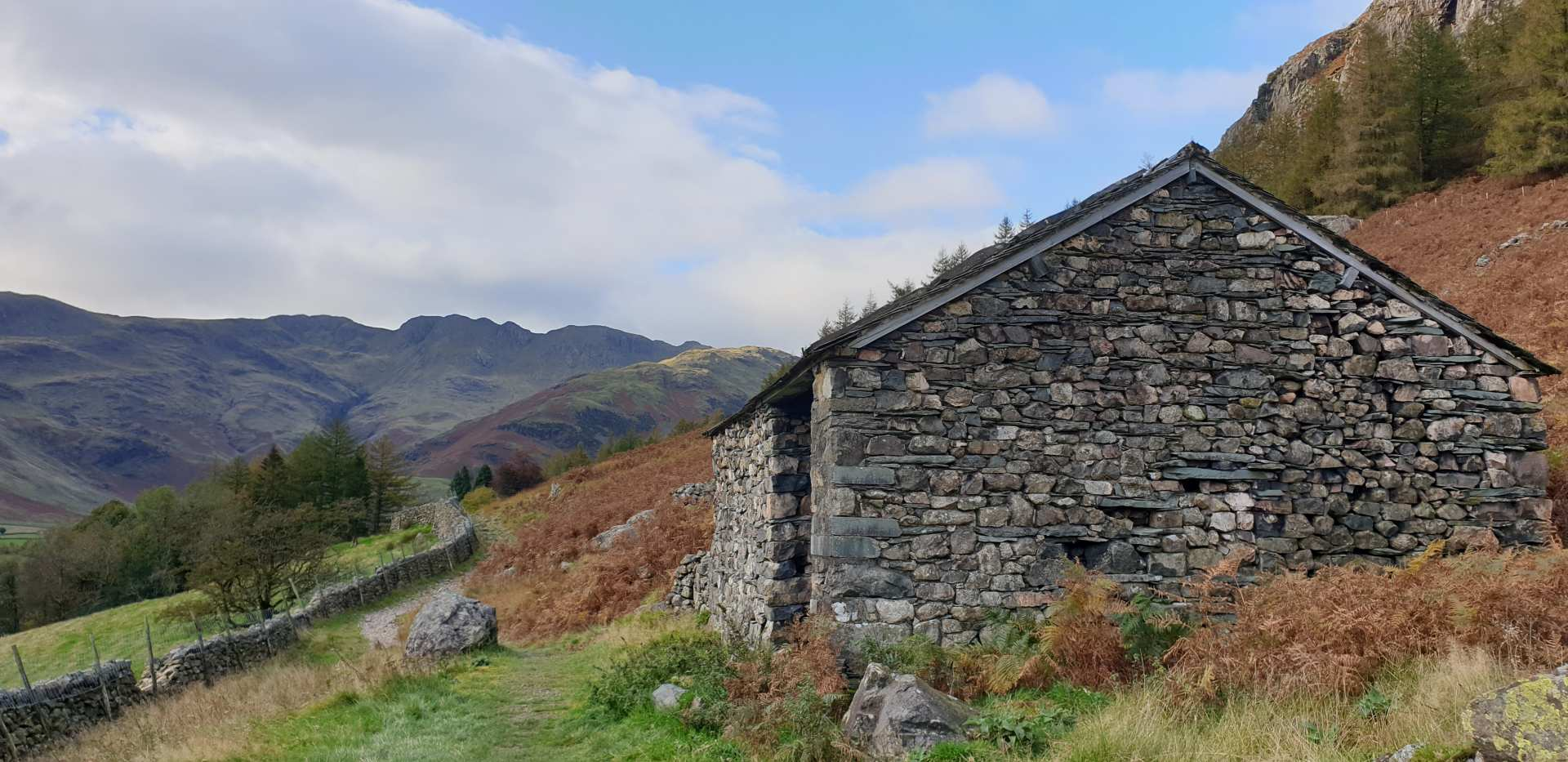 A Virtual Walk through the Langdale Valley