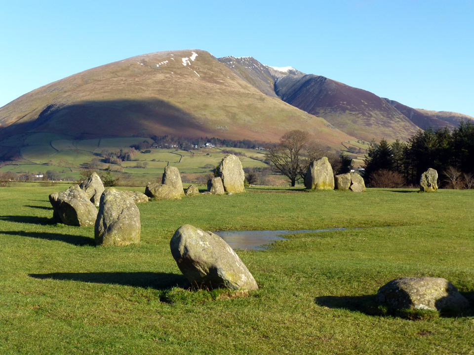 2. Castlerigg Stone Circle and Blencathra