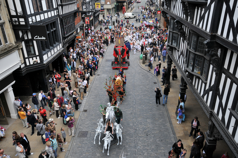 Chester's Midsummer Watch Festival