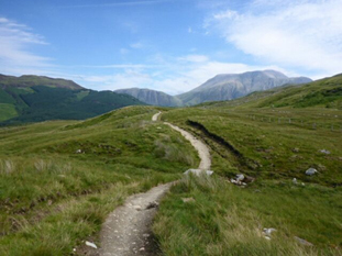 The West Highland Way: Ben Nevis comes into view