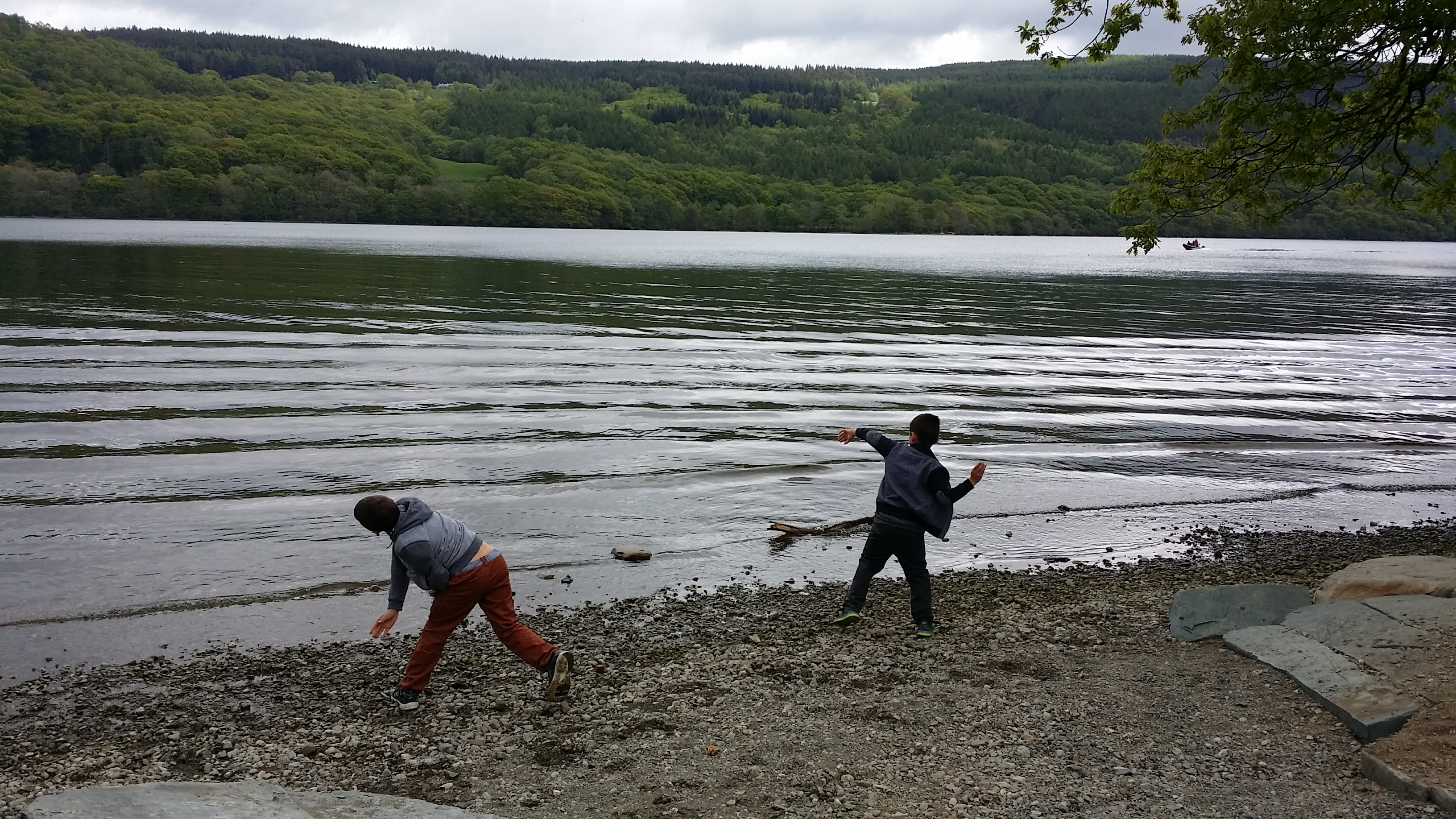 Coniston Stone Skimming