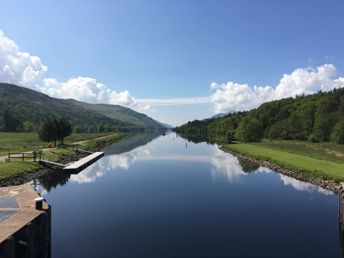 Great Glen Way Caledonian Canal Micheal Firth
