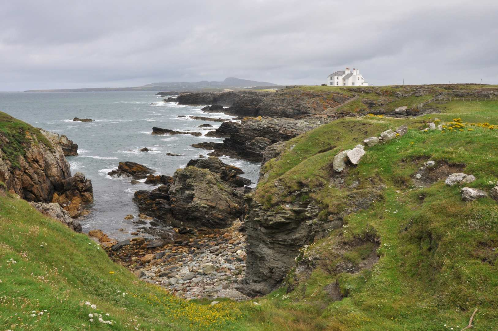 Ferry To Ireland From Holyhead >> Isle of Anglesey Coast Path — Contours Walking Holidays