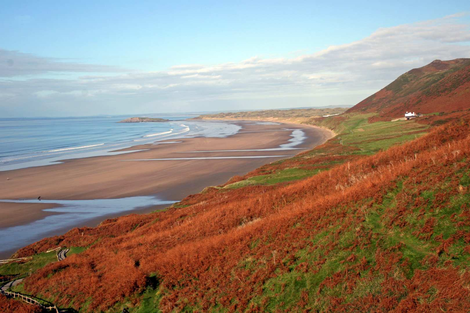The Gower Coast Path